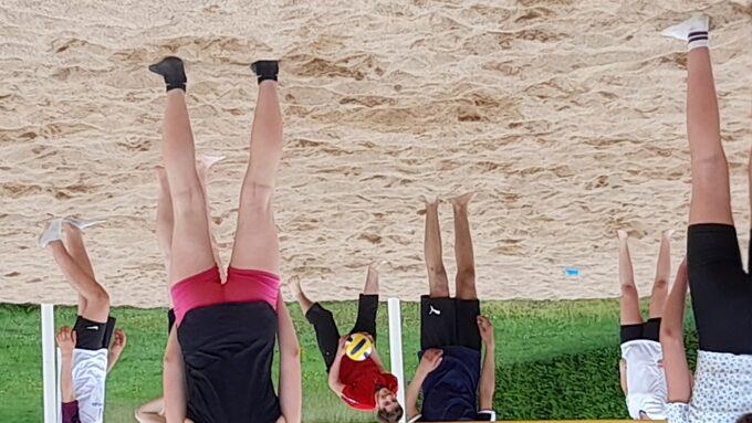 Pas facile d'avoir des  appuis efficace dans le sable.